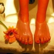 Šilto parafino procedūra kojoms